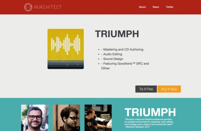 Aurchitect Audio Software
