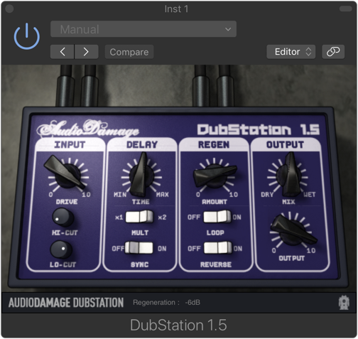 Audio Damage : Dubstation