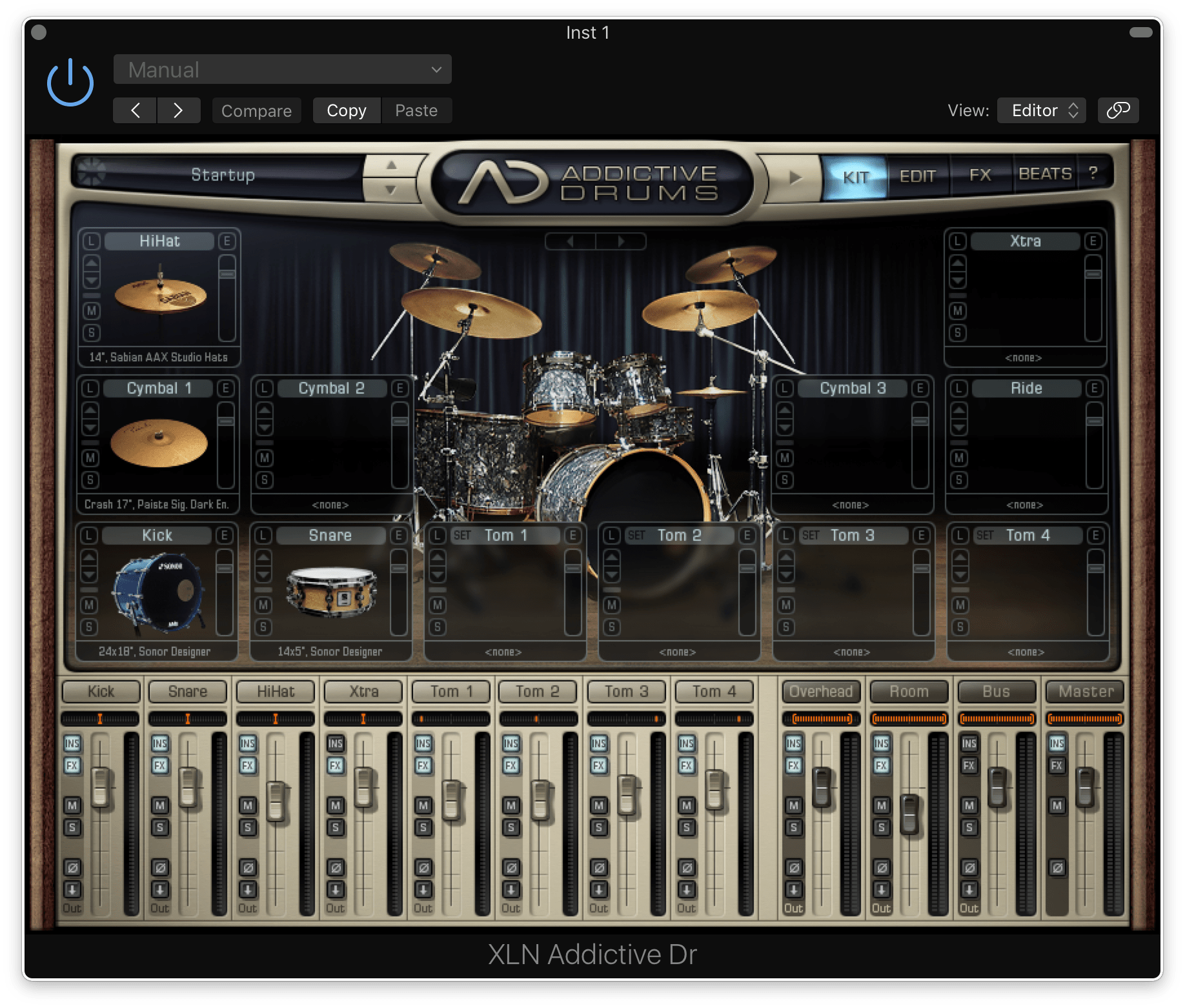 XLN Audio : Addictive Drums