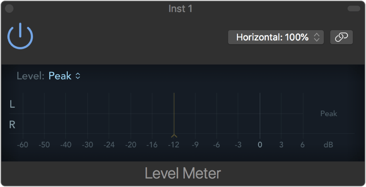 Logic Pro X 10.2.1 Surround Level Meter