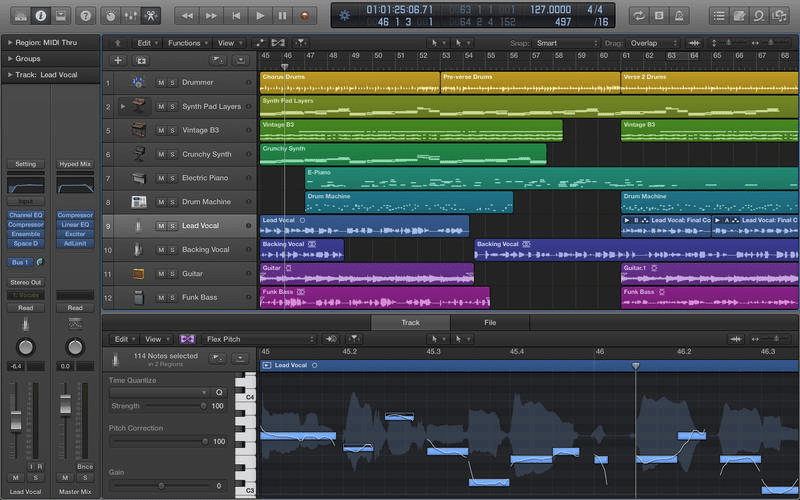 Logic Pro X(©Apple)