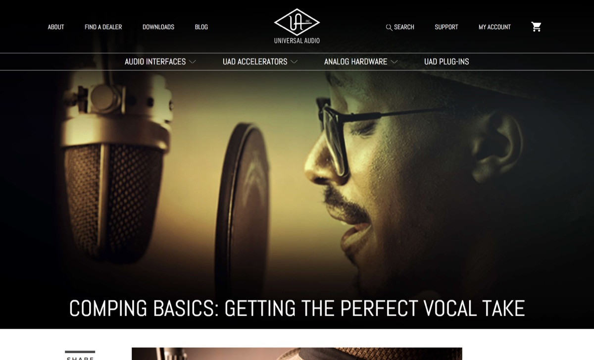 Comping Basics: Getting the Perfect Vocal Take | Universal Audio