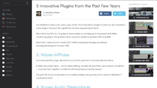 5 Innovative Mixing Plugins from the Past Few Years
