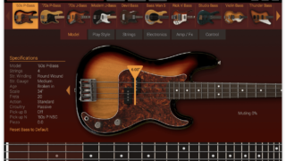 IK Multimedia | MODO BASS — The first physically modeled electric bass