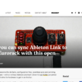 Now you can sync Ableton Link to your Eurorack with this open gizmo - CDM Create Digital Music