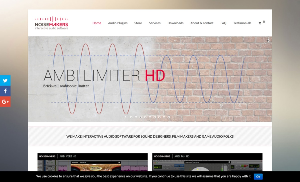 Interactive Audio Software | Noise Makers