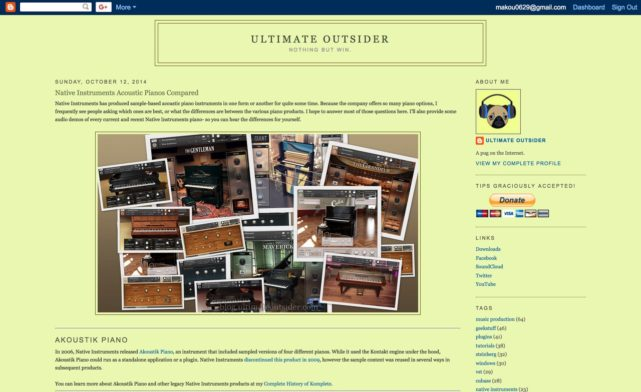 Ultimate Outsider: Native Instruments Acoustic Pianos Compared