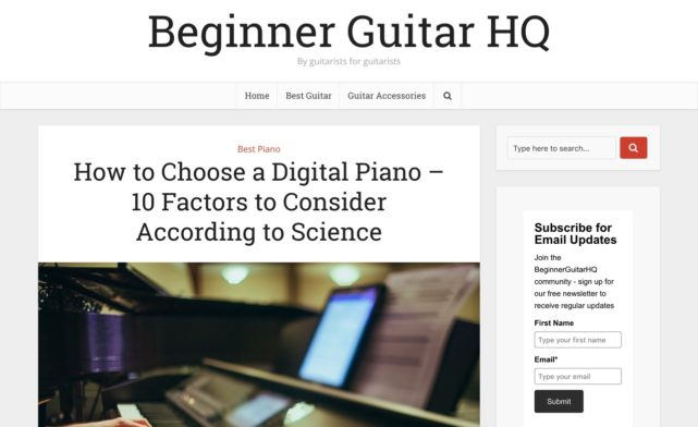 How to Choose a Digital Piano - 10 Factors to Consider According to Science 2018 - Beginner Guitar HQ