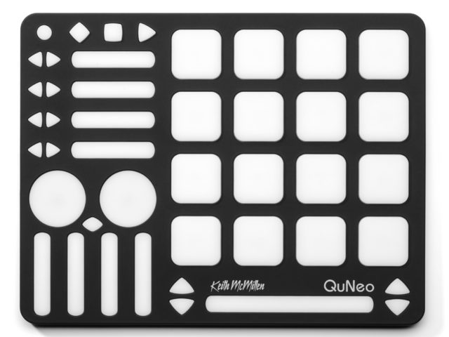 QuNeo USB MIDI Drum Pad Controller for Music Production | Keith McMillen Instruments