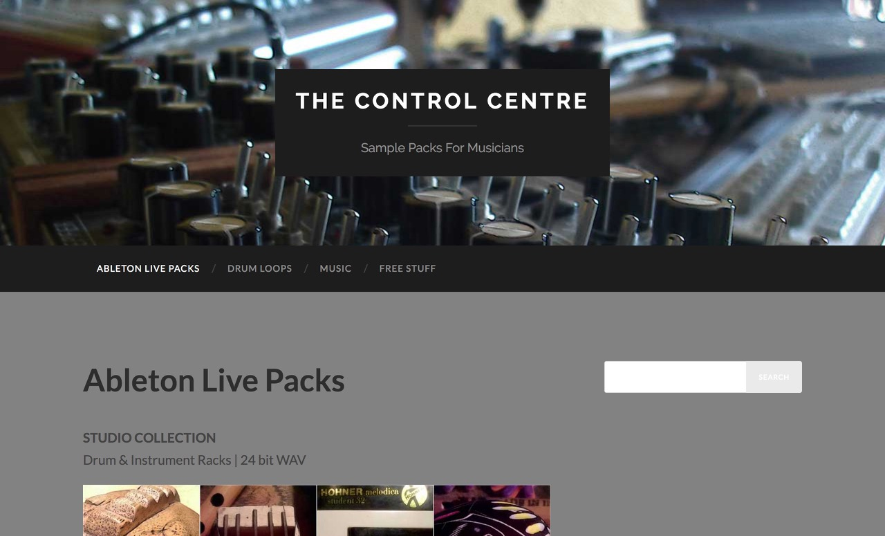 Ableton Live Packs – The Control Centre