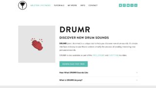 DRUMR | Discover New Drum Sounds — ELPHNT // Make Better Music with Ableton Live