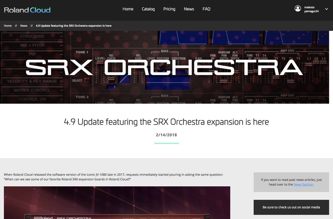 4.9 Update featuring the SRX Orchestra expansion is here