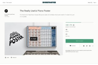 The Really Useful Piano Poster by The Really Useful Poster Company — Kickstarter