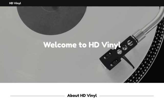 HD Vinyl - Vinyl Technology, Ultimate Sound, HD Schallplatte | HD Vinyl
