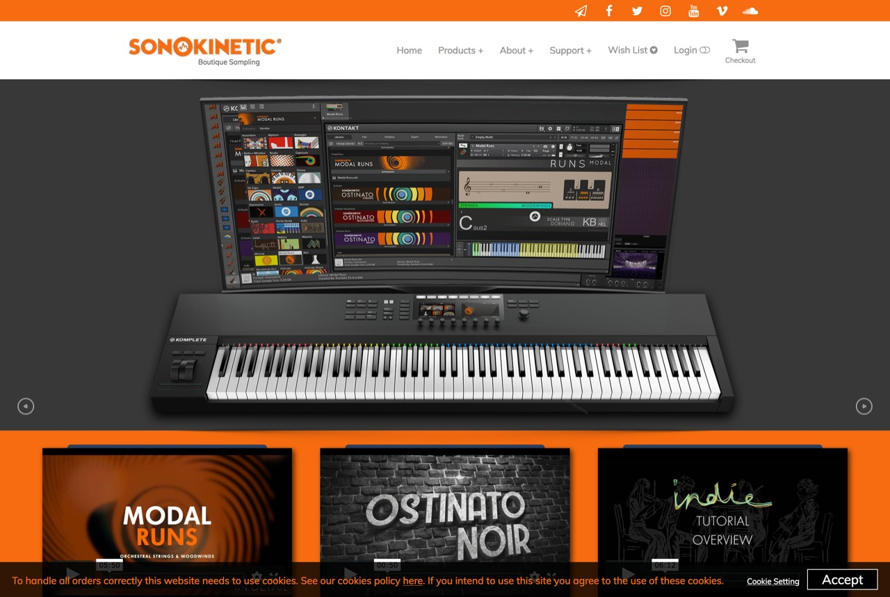 Sonokinetic - Sample libraries and Virtual Instruments