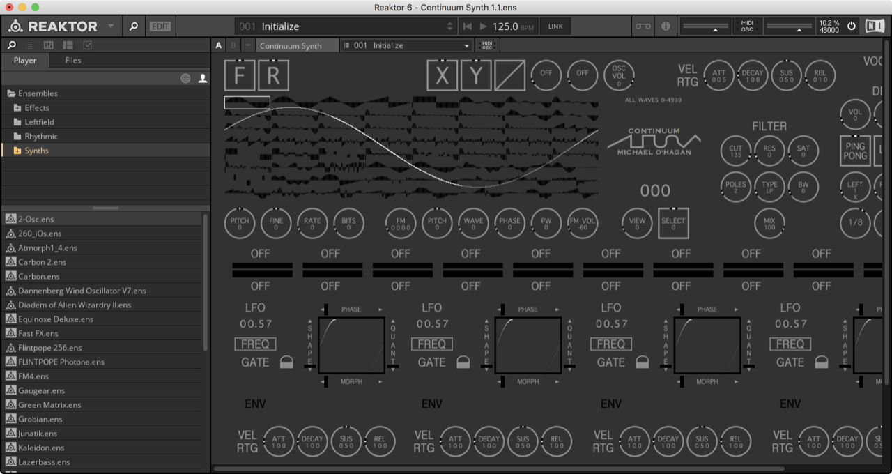 Continuum Synth 1.1