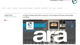 Logic Pro | Is There A Problem With ARA In Logic Pro 10.4.2? Reports Of Issues And Possible Lost Work