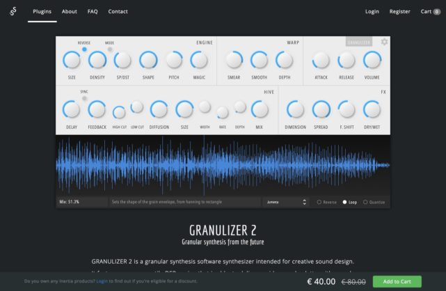 Granulizer 2 | Inertia Sound Systems
