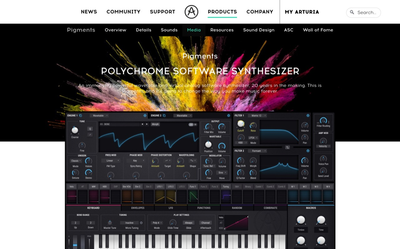 Pigments is a new hybrid synth from Arturia, and you can try it free now - CDM Create Digital Music