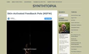 Skin-Activated Feedback Pole (NSFW) – Synthtopia