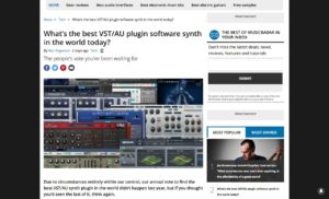 What's the best VST/AU plugin software synth in the world today? | MusicRadar