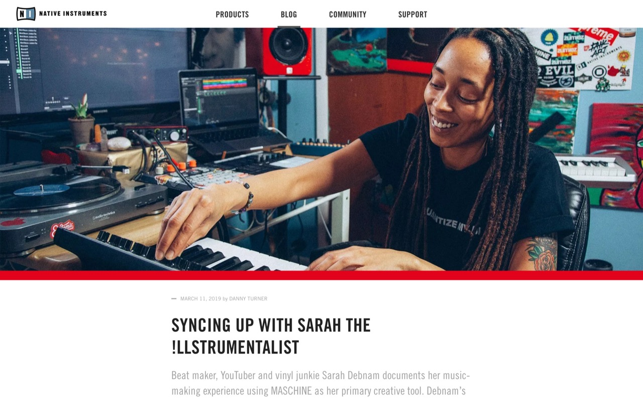 Syncing up with Sarah the !llstrumentalist | Native Instruments Blog