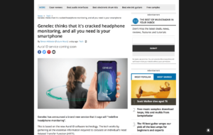 Genelec thinks that it's cracked headphone monitoring, and all you need is your smartphone | MusicRadar