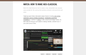 Watch: How to make neo-classical | Native Instruments Blog