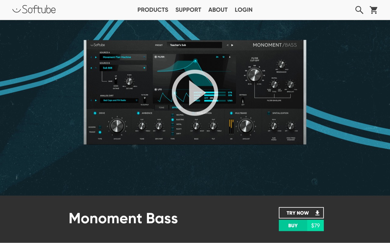 Monoment Bass | Softube