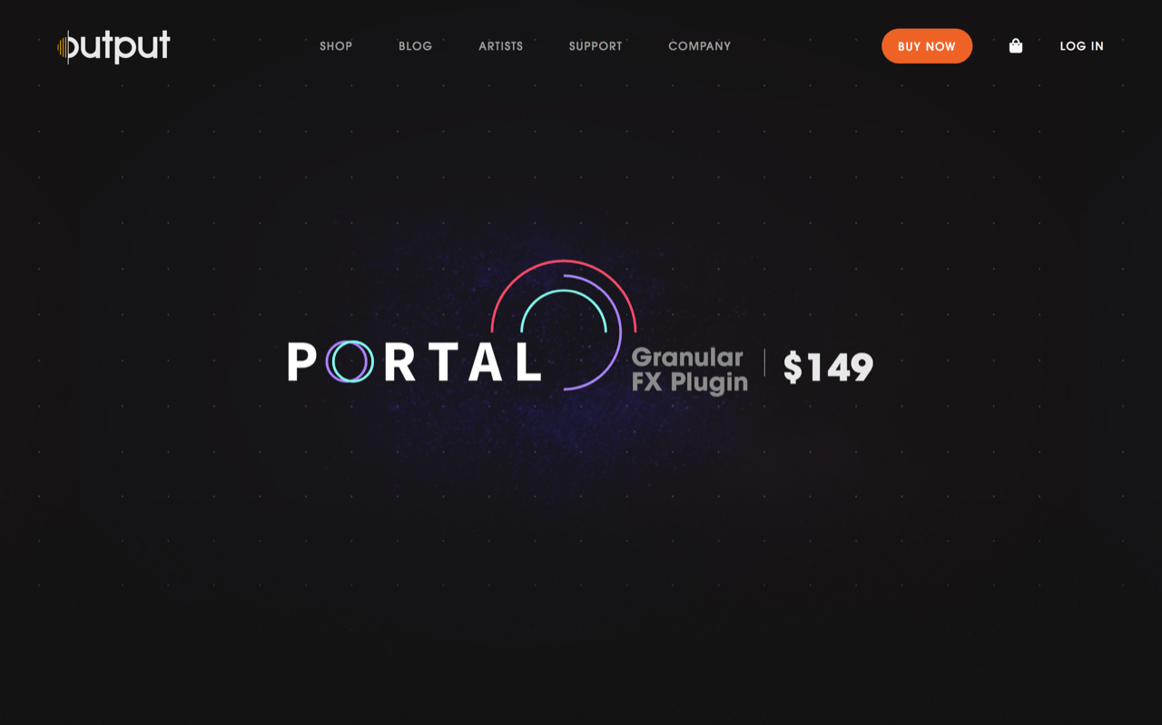 PORTAL by Output | Granular FX Plugin | Granular Synthesis Reinvented