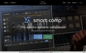 smart:comp | The spectro-dynamic compressor by sonible