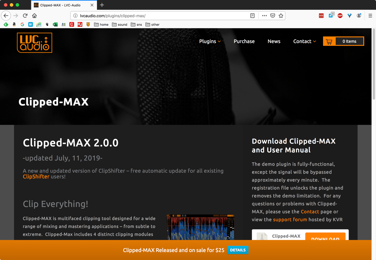 Clipped-MAX - LVC-Audio