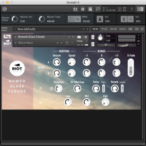 Bowed Glass Clouds by Riot Audio - FREE DOWNLOAD! - Audio Plugin Deals