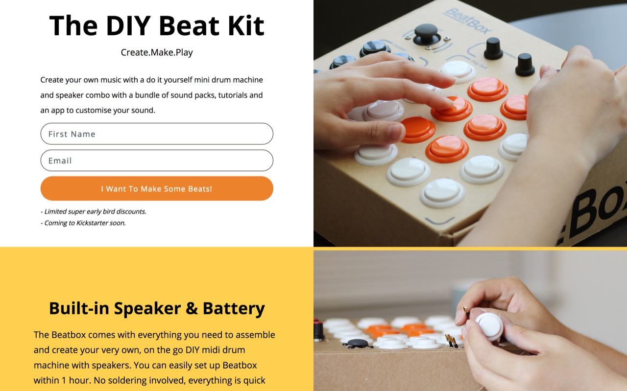 BeatBox - Coming Soon To Kickstarter