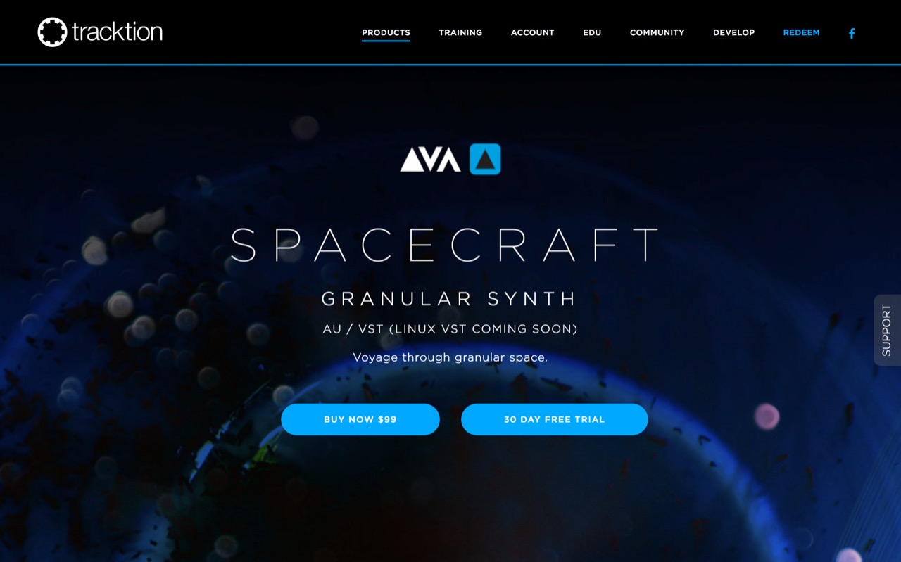 Delta-V Audio SpaceCraft | Granular Synth Plugin - Tracktion Presents