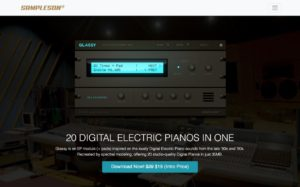 Glassy. Digital Electric Piano Module (+ Pads) | Sampleson