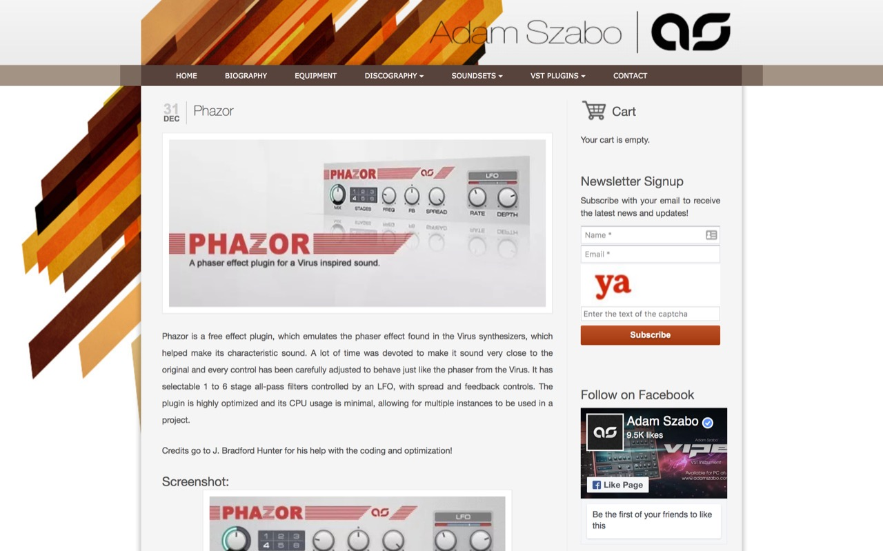Phazor » Adam Szabo | Official Website