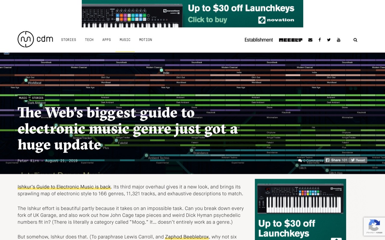 The Web's biggest guide to electronic music genre just got a huge update - CDM Create Digital Music