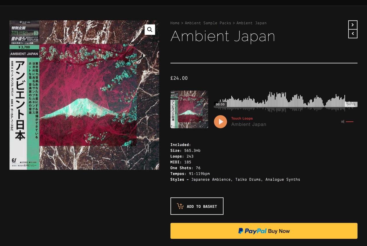 Electronica Sample Pack | Japanese Samples | Ambient Japan