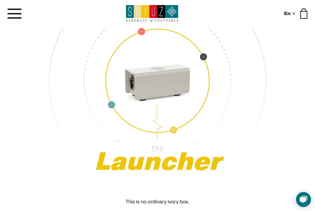 The Launcher | Take Your Sound With You | Soyuz Microphones