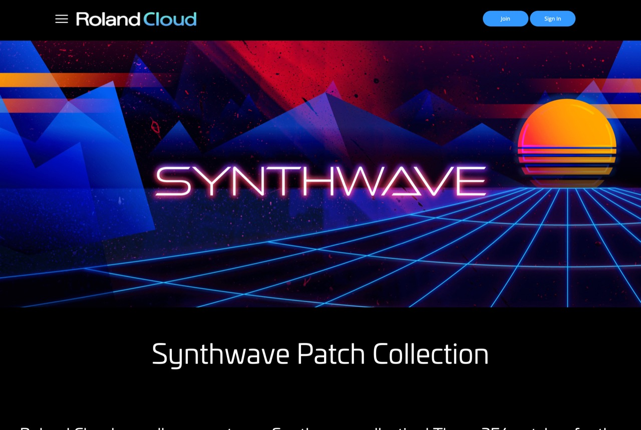 SYNTHWAVE PATCH COLLECTION