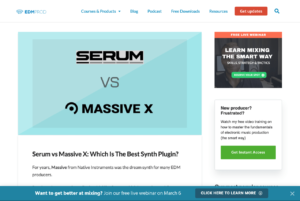Serum vs Massive X: Which Is The Best Synth Plugin? - EDMProd