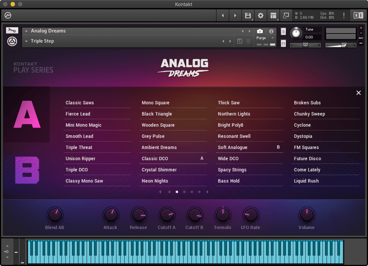 Play Series : Analog Dreams | Komplete