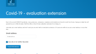FabFilter - Covid-19 - evaluation extension