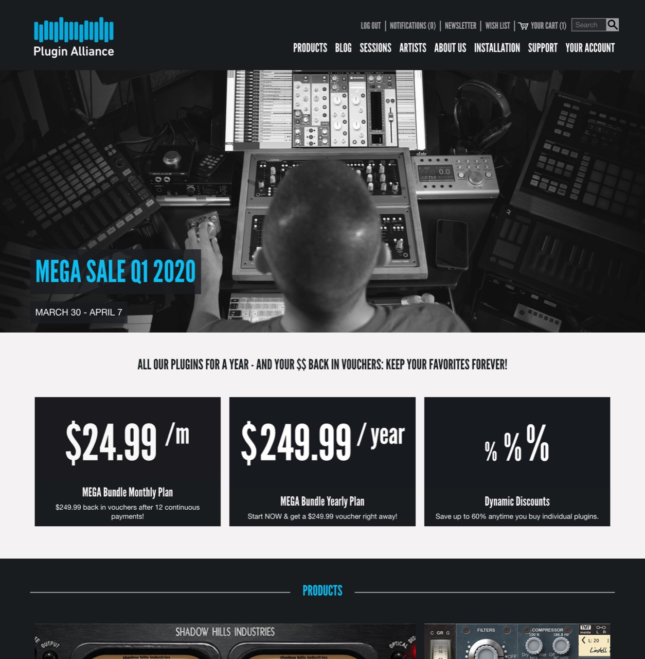 Sign up with us and receive 6 FREE plugins! - Plugin Alliance