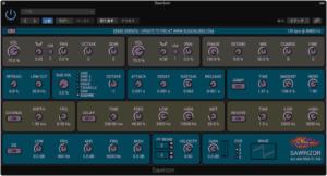 Sawrizor – All-Round Saw Synthesizer Audio Plug-In – Sugar Audio