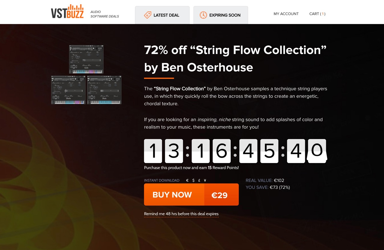 """72% off """"String Flow Collection"""" by Ben Osterhouse"""