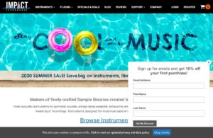 Homepage - Impact Soundworks