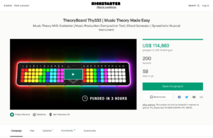 TheoryBoard Thy333 | Music Theory Made Easy by Irijule — Kickstarter