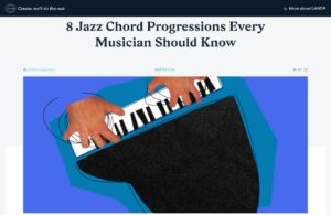 8 Jazz Chord Progressions Every Musician Should Know | LANDR Blog